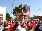 米軍の神輿